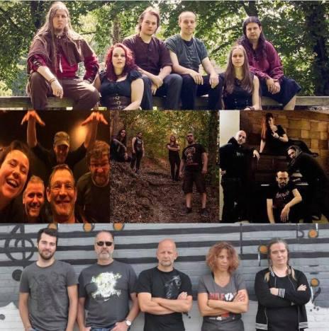 bands belgie
