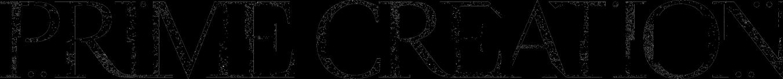 Prime Creation logo white texture